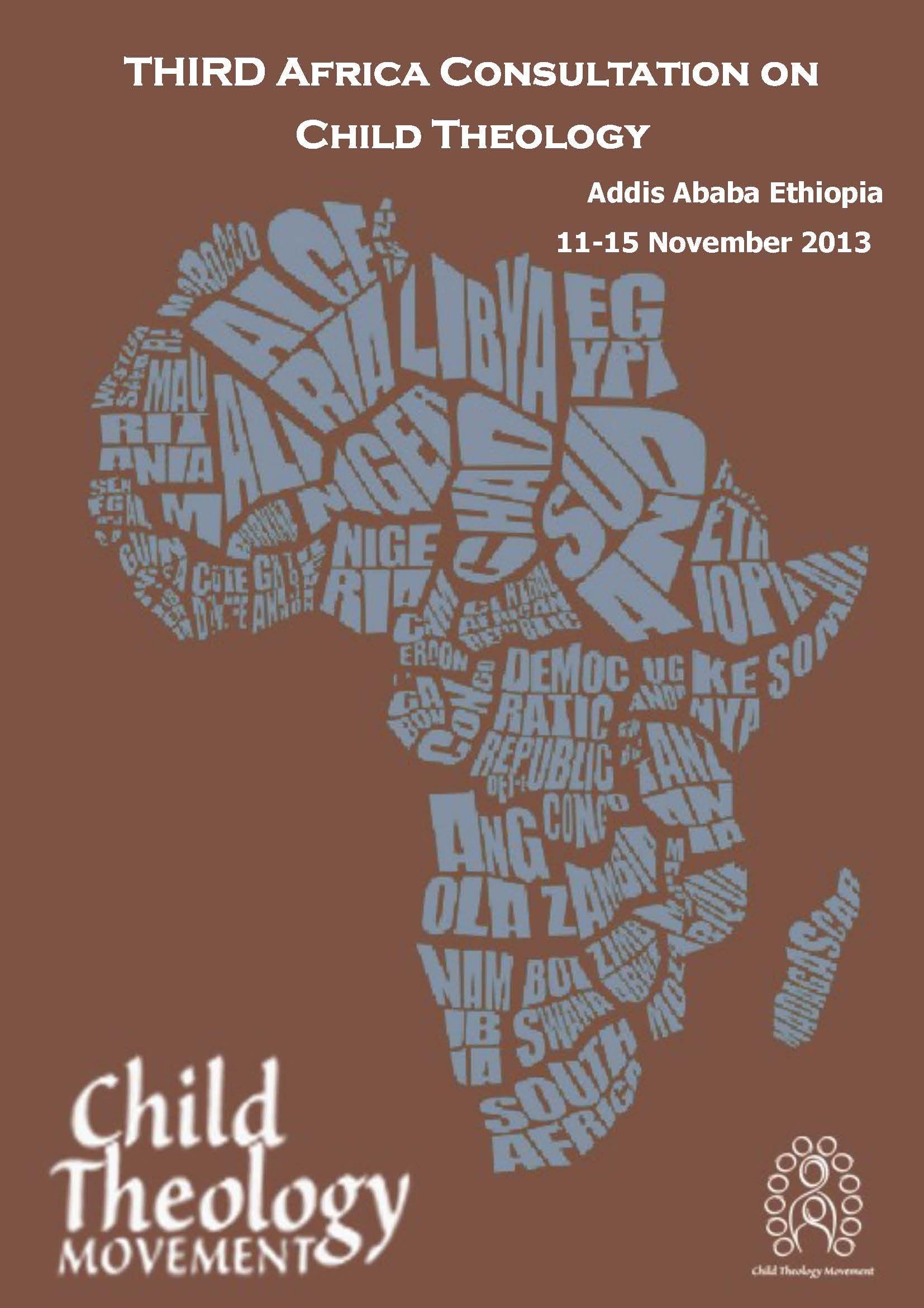 Addis Ababa Ethiopia 11th-15th November 2013 Cover