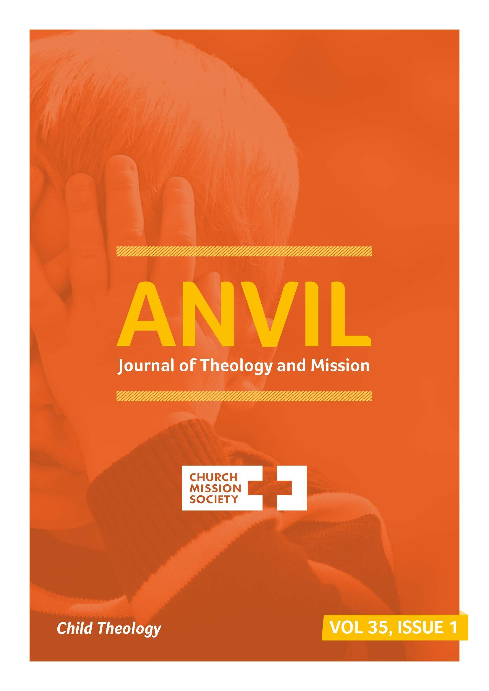 Anvil Journal of Theology and Mission Cover